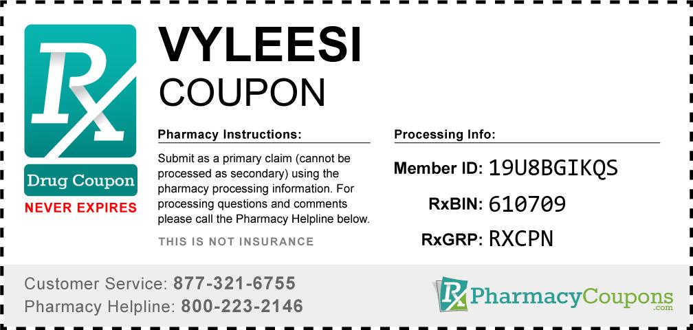 Vyleesi Prescription Drug Coupon with Pharmacy Savings