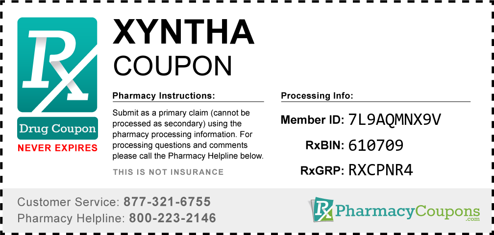 Xyntha Prescription Drug Coupon with Pharmacy Savings