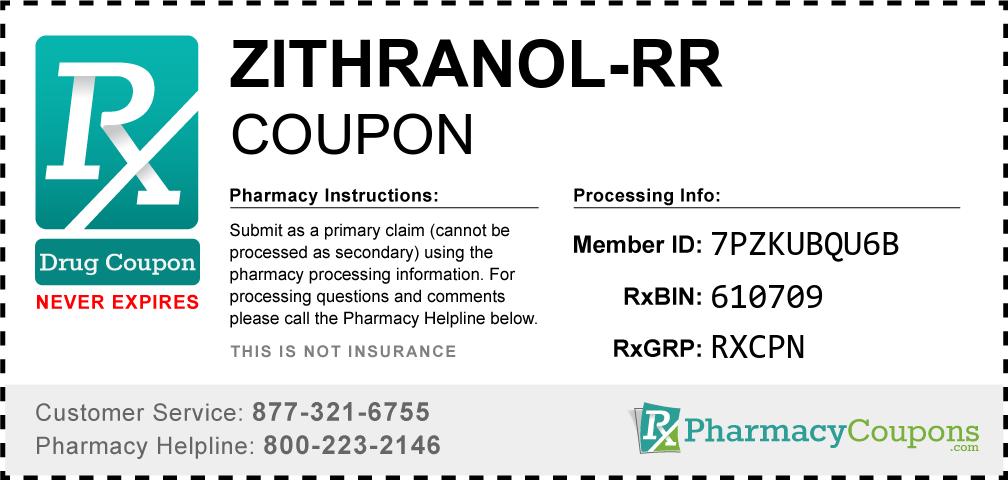Zithranol-rr Prescription Drug Coupon with Pharmacy Savings